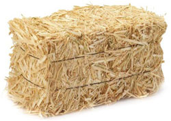 bale of straw for sale